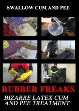 Rubber Freaks Swallow Cum