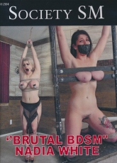 Society SM BDSM Nadia White - Kurzzeitreduzierung -BRANDNEU