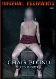 Infernal Restraints Chair Bound Red August